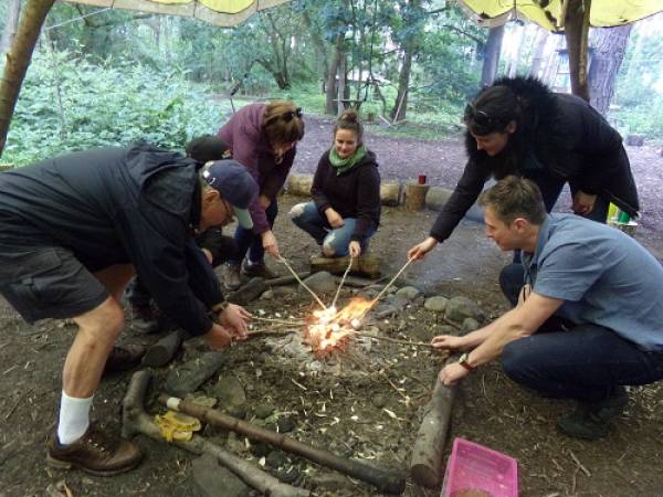 The Bushcraft team building experience near York voucher experience Image 1