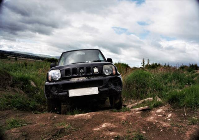 Adult 4x4 Off Road Driving 18 Years+ all Abilities in Trossachs Stirlingshire Image 3