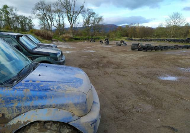 Adult 4x4 Off Road Driving 18 Years+ all Abilities in Trossachs Stirlingshire Image 2