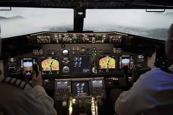 Flight Simulation Experience in Lancashire - Unique Gifts Image 2
