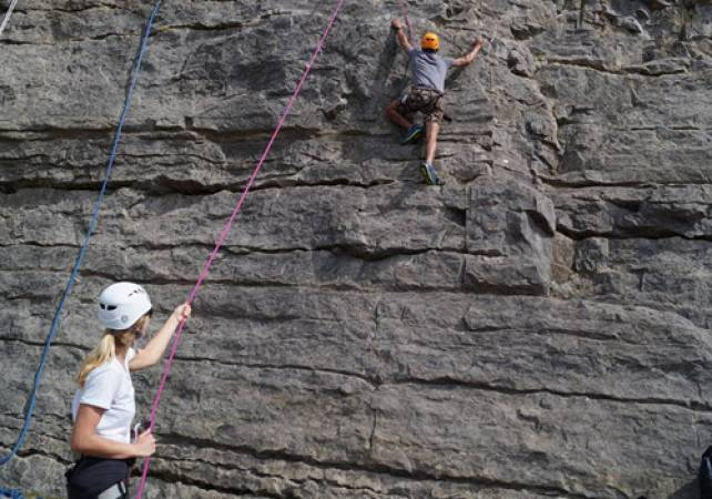 Rock Climbing and Abseiling With Expert Tuition in North Wales Image 6