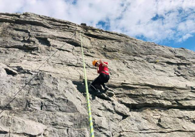 Rock Climbing and Abseiling With Expert Tuition in North Wales Image 4