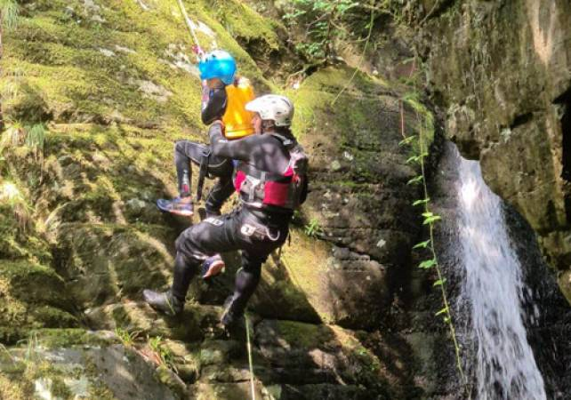 Rock Climbing and Abseiling With Expert Tuition in North Wales Image 2