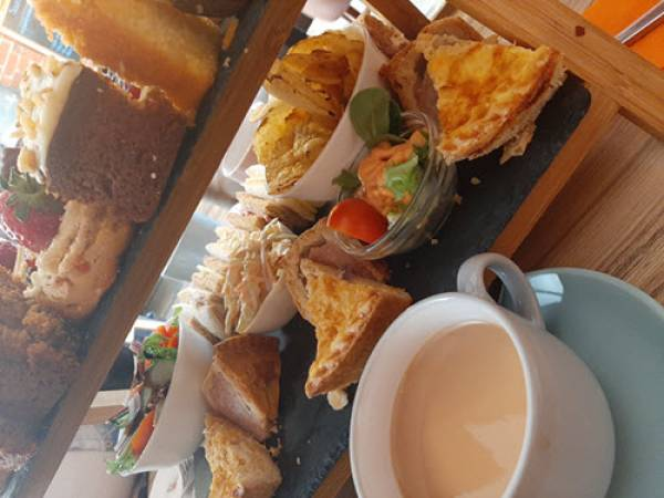 Deluxe Afternoon Tea Black Sheep Tearoom, Lytham Image 4