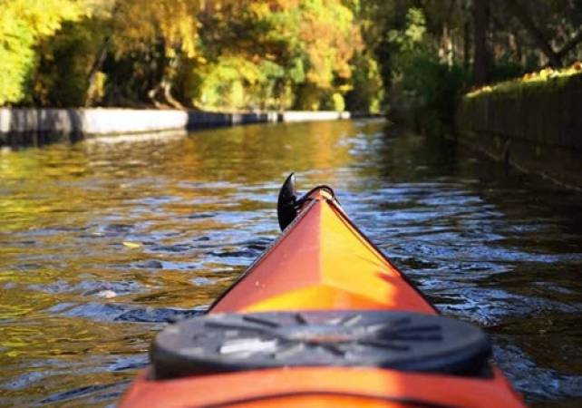 White Water Canoeing in North Wales Full Day on the River Dee Image 4