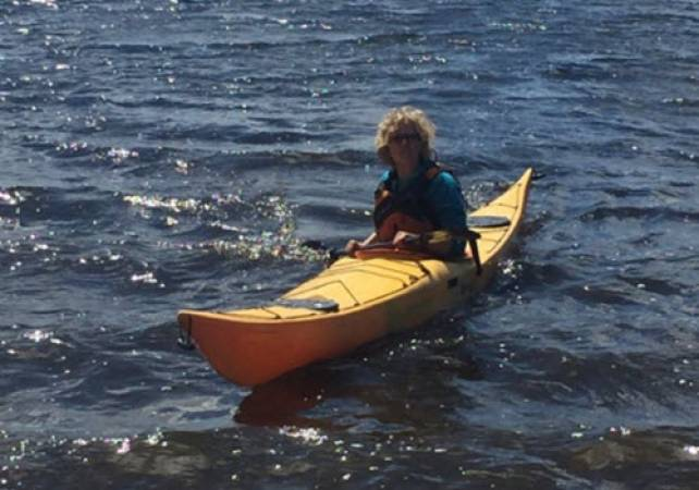 Family Day out Exploring Lake Bala, North Wales in Canoe or Kayak Image 5