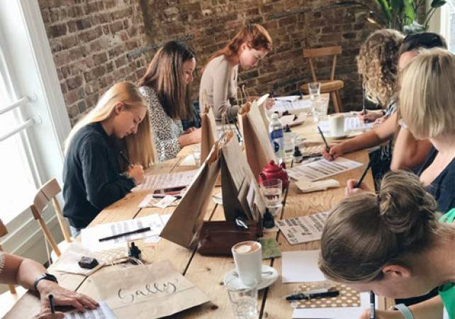 Brush Lettering Calligraphy Workshops  - Brighton, Eastbourne & Hove Image 3