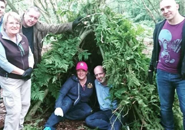 Basics of Bushcraft North Wales | Family Fun Activities Llangollen Image 3