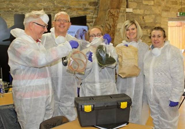 Workshop where you can try your hand at being a CSI, Yorkshire Image 2