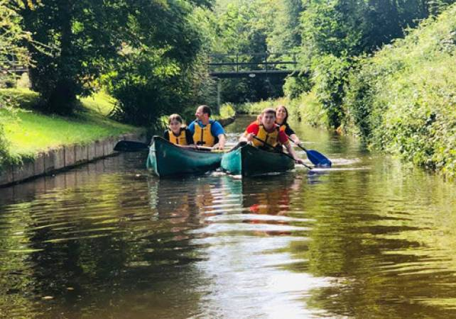 Canoe or Kayak Canal Trip in North Wales for all Ages Image 1