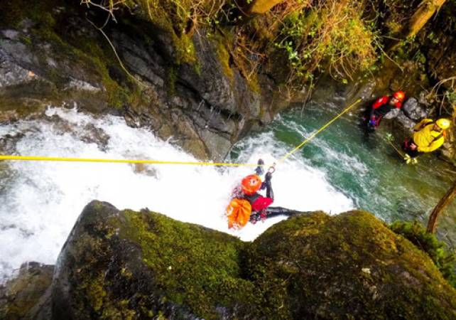 Canyoning at Skull Canyon  in Lake District Suitable for Over 18 years Image 1