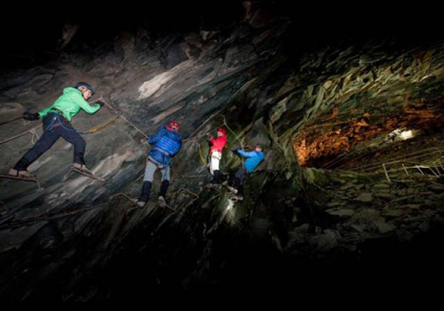 Climb The Mine Adventure Experience  in Lake District suitbale 10 years + Image 1