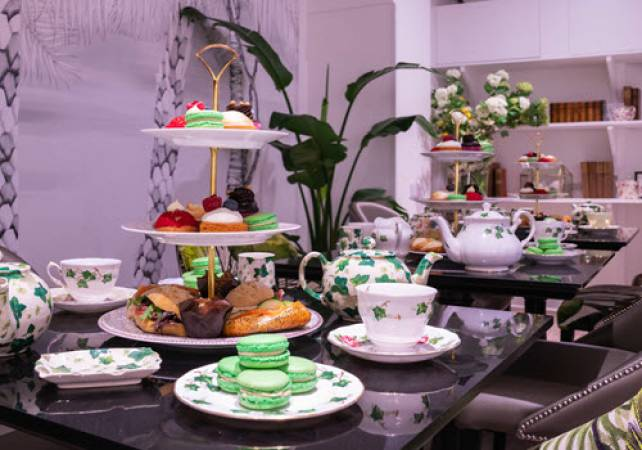 Afternoon Tea Bakery Covent Garden London - Add Prosecco & Gin Image 1