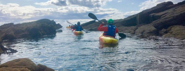 Kayaking in Fife Two Hour Session with Expert Instructors Image 1