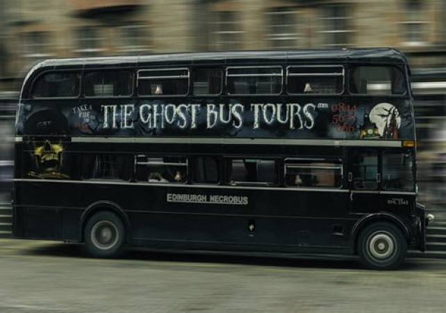 75 Minute Spooky Edinburgh Ghost Bus Tours  Suitable for All Ages Image 2