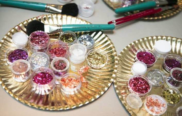 Fantastic one day Glitter and Festival Make Up Course London and Kent Image 3