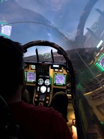 Fighter Pilot experience flight simulator Falcon F-16 Yorkshire Image 4