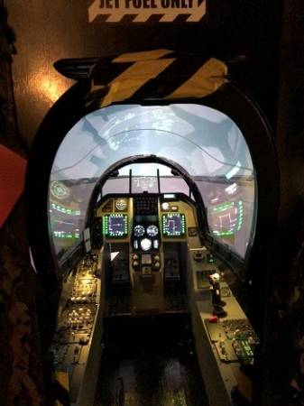 Fighter Pilot experience flight simulator Falcon F-16 Yorkshire Image 3