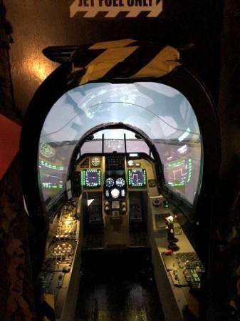 Fighter Pilot experience flight simulator Falcon F-16 Yorkshire Image 3