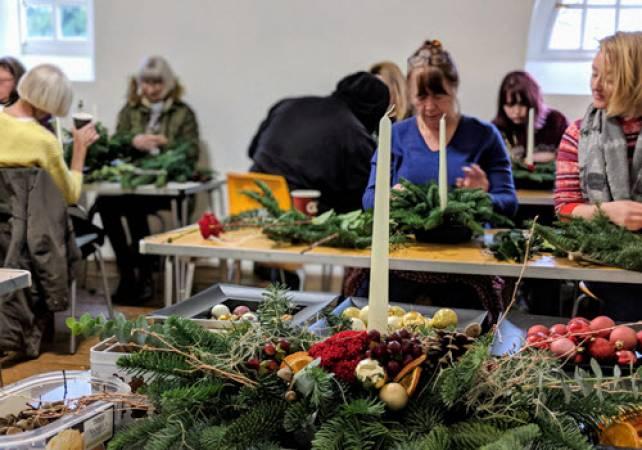 Winter Flower Arranging Classes near Northamptonshire Image 3