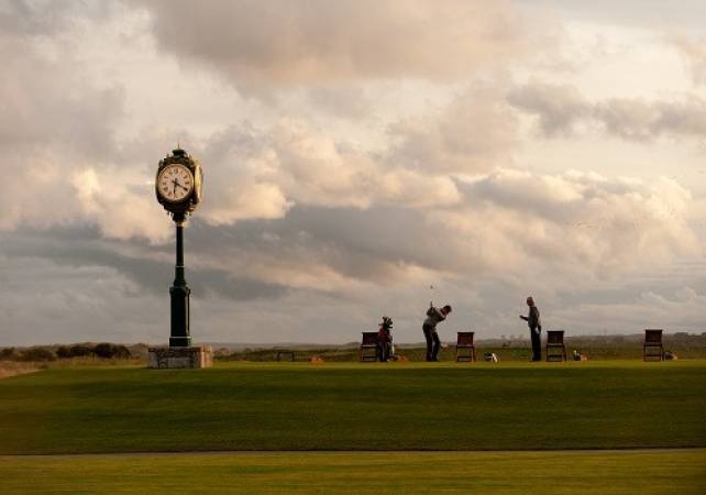 Golf coaching at Trump International Scotland Gift Experience Image 2