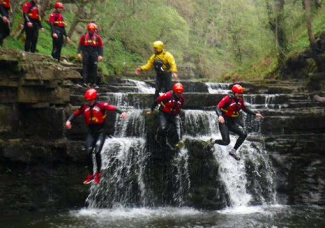 Family Acitvity Day Out Ghyll Scrambling in Lake District For 7 years + Image 2
