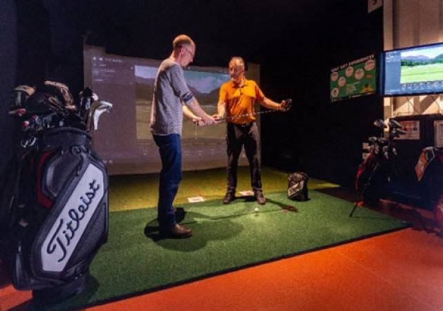 Golf Gifts for Him a Golf Lesson with A PGA Pro in St Andrews Image 1
