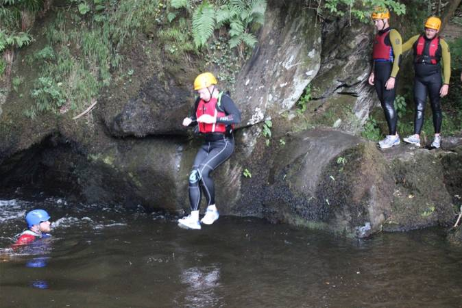 2 hour Gorge Walking Experience  through clear welsh water in Llangollen, North Wales Image 1