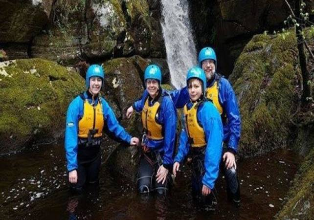 Gorge Walking in North Wales Half Day Out for the Family Image 2