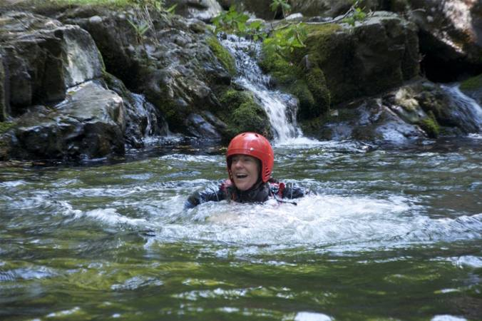 2 hour Gorge Walking Experience  through clear welsh water in Llangollen, North Wales Image 2