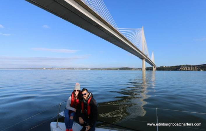 Half Day Exclusive Sailing Experience for Two - South Queensferry Image 1