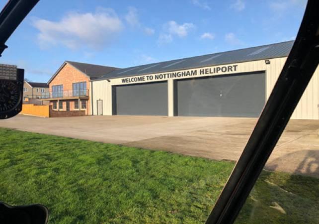 30 min Sightseeing Helicopter Tour Nottingham - LGE Image 3