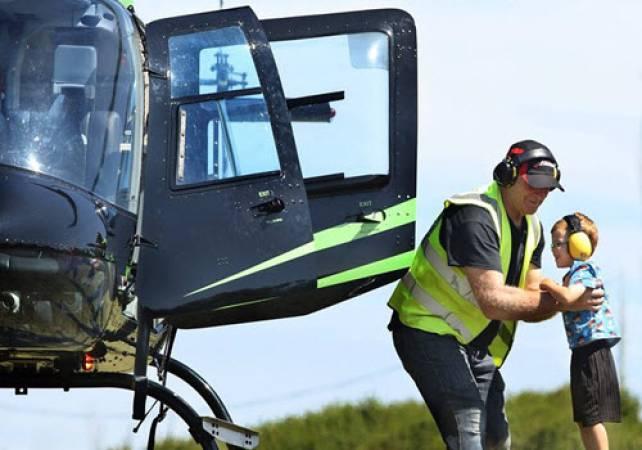 30 min Sightseeing Helicopter Tour Nottingham - LGE Image 2