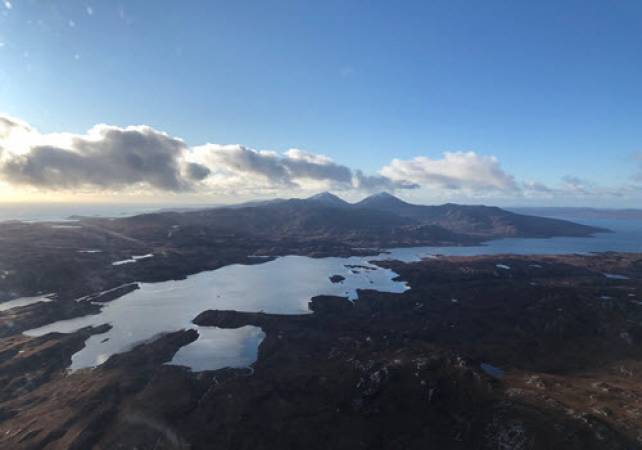30 min Private Helicopter Tour Glasgow & West Coast of Scotland Image 4