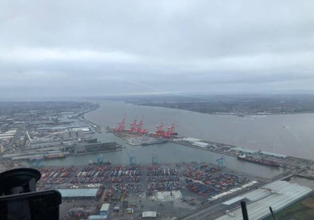 30 min Sightseeing Helicopter Tour Liverpool - LGE Image 2