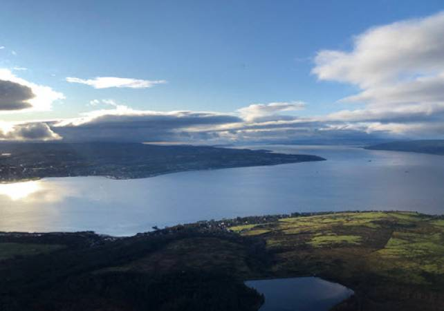 30 min Private Helicopter Tour Glasgow & West Coast of Scotland Image 5