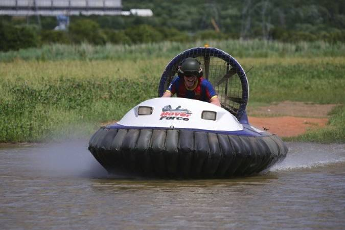 Kids Hovercraft Blast for Children in Cheshire Gift experiences Image 3