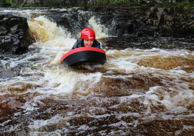 Family Acitvity Day Out Hydrospeeding in the Lake District Image 1