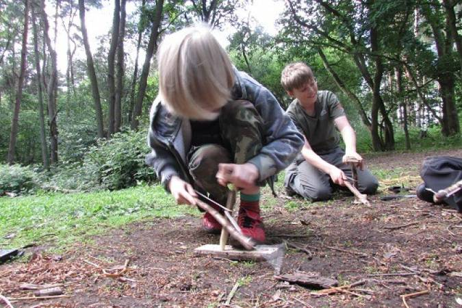 Bushcraft Fire Lighting Experience York Suitable for Adults Image 6