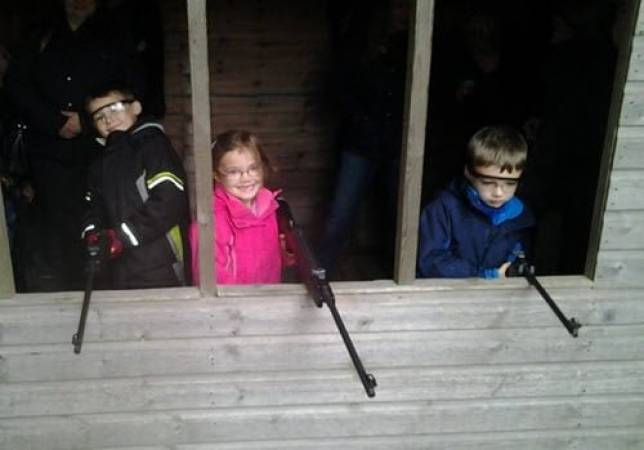 Rifle Shooting for Juniors (5-14 years) in Nottingham Suitable for all Levels Image 1