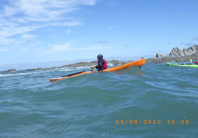 Sea Kayaking in Braunton, North Devon for Intermediates & Beginners Image 4
