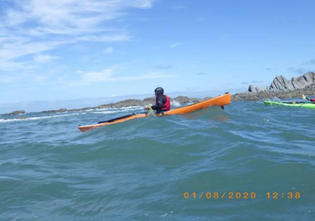 Sea Kayaking in Braunton, North Devon for Intermediates & Beginners Image 4