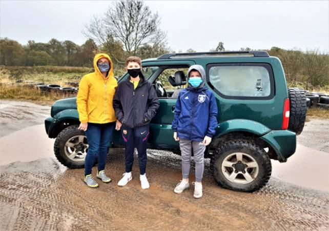 4x4 Off Road Driving for 9-12yrs Trossachs Stirlingshire Image 1