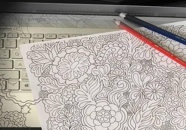 Online Doodle Art workshop - Motif for Wellbeing sessions Image 3
