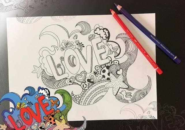 Online Doodle Art workshop - Motif for Wellbeing sessions Image 1