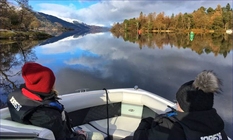 Speedboat Tour on Loch Lomond, The Trossachs for upto 8 People Image 5