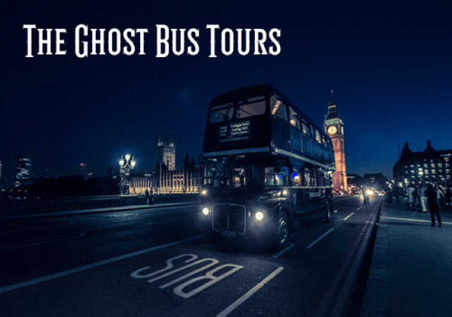 75 Minute Spooky London Ghost Bus Tours  Suitable for All Ages Image 2
