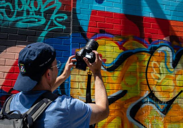 Photography Private Tuition of Shoreditch Street Art London Image 3