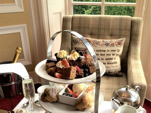 Champagne Afternoon Tea at Carberry Tower Mansion House and Estate Image 4