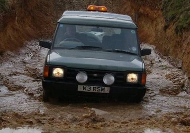 3 Hour 4x4 Off Road Driving Nottingham in Land Rover Discovery Image 1